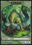 Beast TOKEN 4/4 - Zendikar