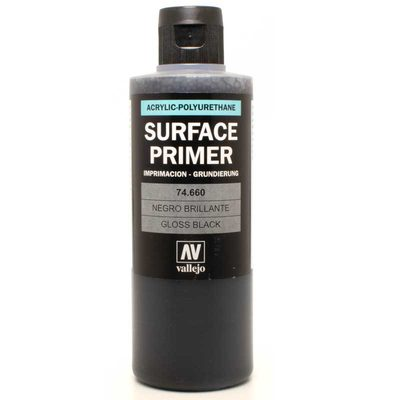 Vallejo Surface Primer Gloss Black 74.660