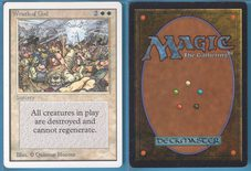 Wrath of God (147) - Unlimited (2nd) Edition