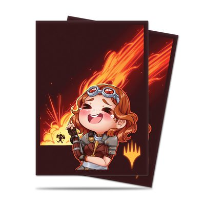 Ultra Pro Chibi Collection Chandra - LOL! Standard Deck Protector sleeves (100ct)
