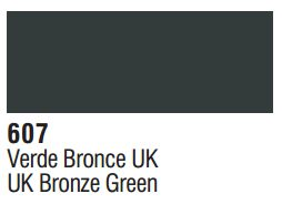 Vallejo Surface Primer: UK Bronze Green 70.607