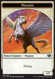 Pegasus 1/1 // Kor Soldier 1/1 TOKEN - Commander 2014