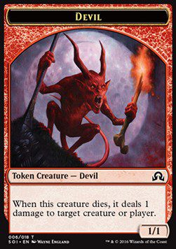 Devil TOKEN 1/1 - Shadows over Innistrad