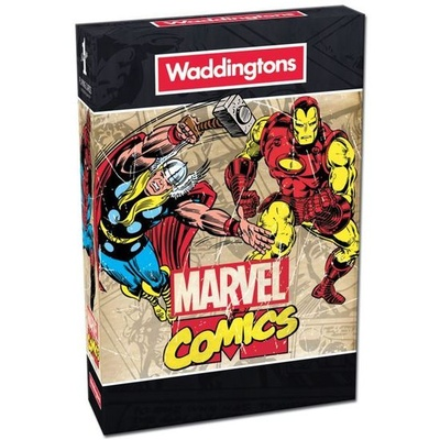 Playing Cards: Waddingtons Marvel Comics