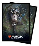 Ultra Pro MTG Throne of Eldraine Deck Protector Standard Sleeves Oko, Thief of Crowns (100ct)