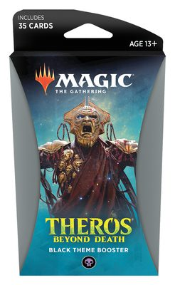 Theros Beyond Death Theme Booster Black