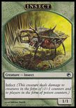 Insect TOKEN 1/1 - Scars of Mirrodin