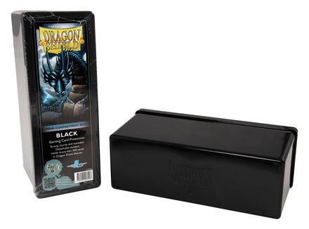 Dragon Shield Deck Box, 4 Compartment, Black