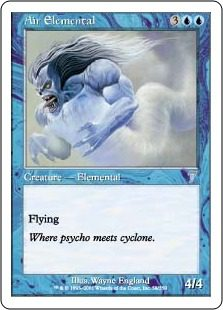 Air Elemental - 7th Edition