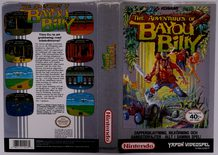Adventures of Bayou Billy (Original YAPON Rental Cover Paper)