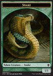 Snake TOKEN 1/1 - Khans of Tarkir