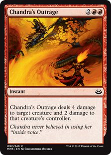 Chandra's Outrage - Modern Masters 2017