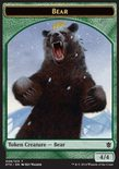 Bear TOKEN 4/4 - Khans of Tarkir