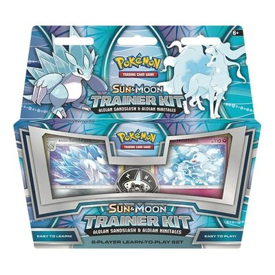 Pokemon Trainer Kit Alolan Sandslash & Alolan Ninetales
