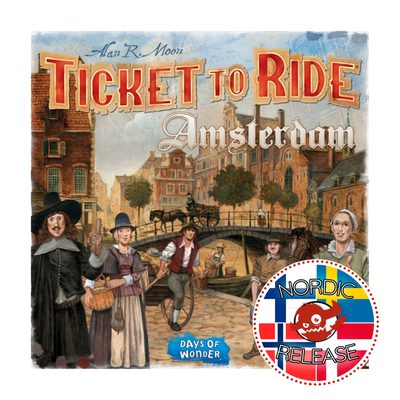 Ticket to Ride: Amsterdam (FI / SE / NO / DK) (PREORDER)