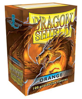 Dragon Shield Sleeves Orange (100pcs)