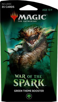 War of the Spark Theme Booster Green