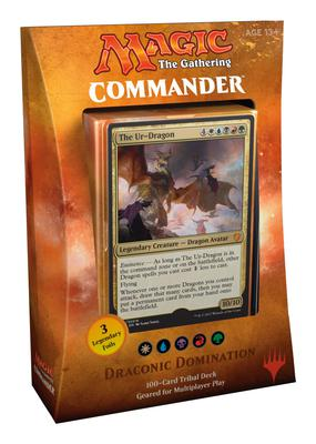 Commander 2017: Draconic Domination (WUBRG)