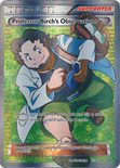 Professor Birch's Observations Full Art 159/160 - X&Y Primal Clash