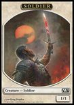 Soldier TOKEN 1/1 - Magic 2013