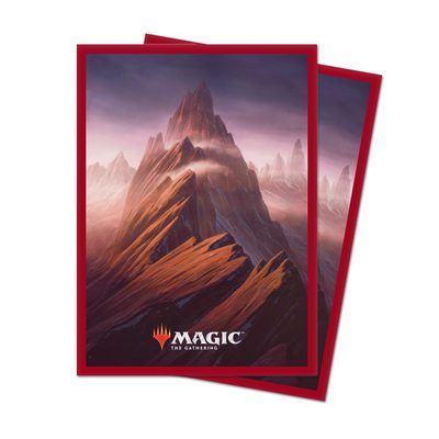 Unstable Lands Standard Deck Protector Sleeves Mountain (100ct)