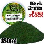 GSW Static Grass Flock 6mm: Dark Green (180ml)