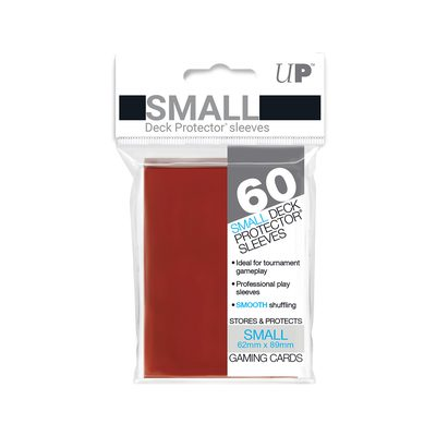 Ultra Pro Japanese Size YGO Sleeves Red 60ct