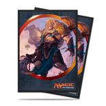 Ultra Pro Sleeves Aether Revolt: Ajani Unyielding (80pcs)