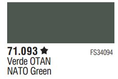 Vallejo Surface Primer: NATO Green 70.612
