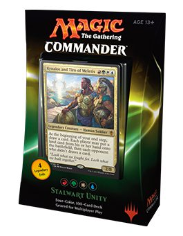 Commander 2016: Stalwart Unity (French)