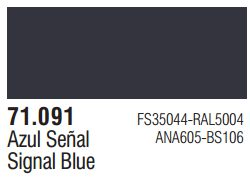 Vallejo Model Air: Signal Blue 71.091