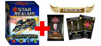Colony Wars + Crisis - Heroes Pack