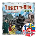 Ticket to Ride Europe (FI/SE/NO/DK)