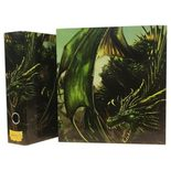 Dragon Shield Slipcase Binder: Green Art Dragon