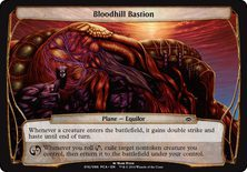 Bloodhill Bastion - Planechase Anthology