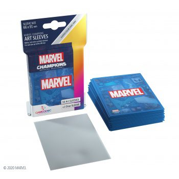Gamegenic Marvel Champions art Sleeves Marvel Blue (50+1ct)