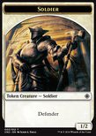 Soldier TOKEN 1/2 - Conspiracy: Take the Crown
