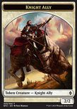 Knight Ally TOKEN 2/2 - Battle for Zendikar