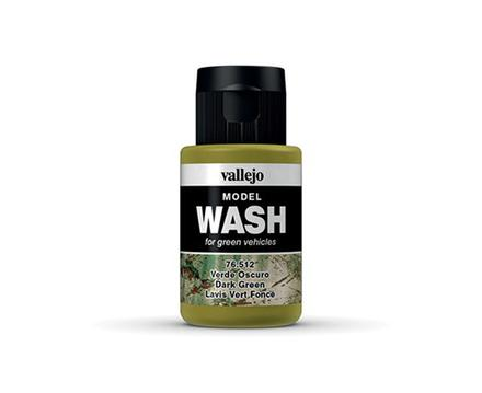 Vallejo Model Wash: Dark Green