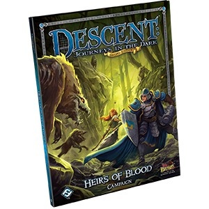 Descent (2nd Ed): Heirs of the Blood Campaign Book