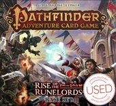 Pathfinder Adventure Card Game: Rise of the Runelords - Base Set + All adventures + character package *USED*