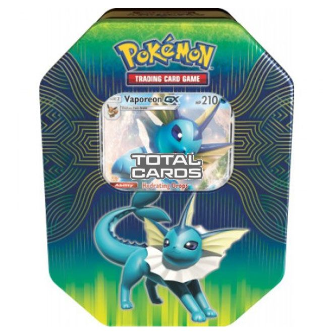 Pokémon - Elemental Power - Vaporeon-GX Tin